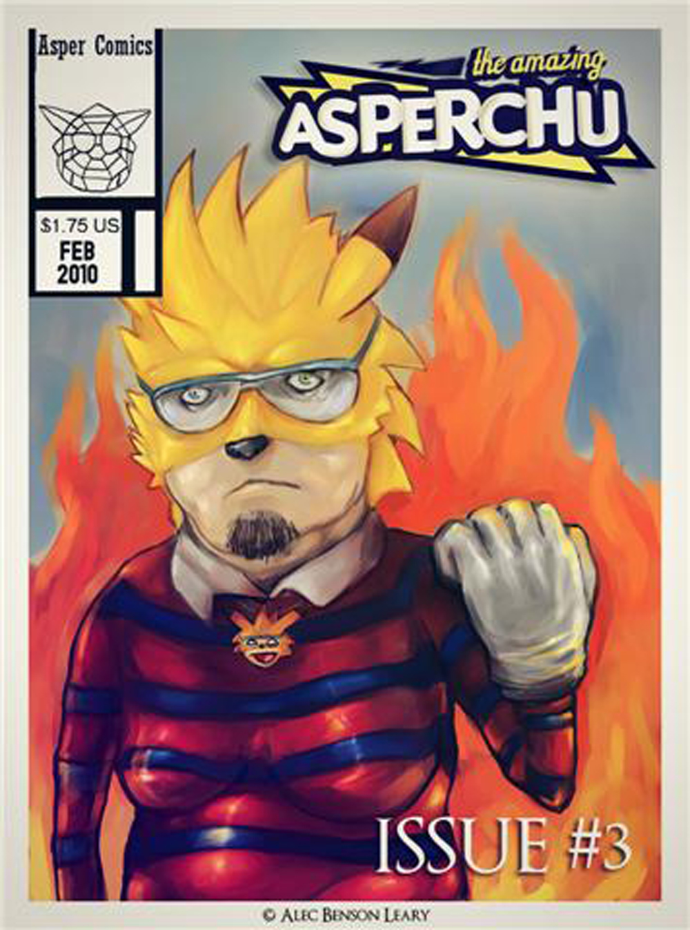 ASPERCHU Issue #3 Cover